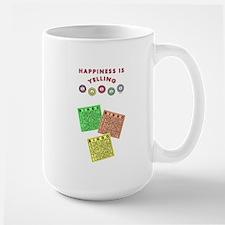 HAPPINESS IS... Large Mug