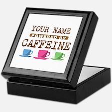 Powered by Caffeine Keepsake Box