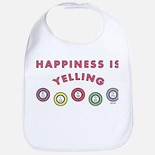 HAPPINESS IS... Bib