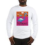 Different Flamingo Long Sleeve T-Shirt