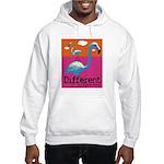 Different Flamingo Hooded Sweatshirt