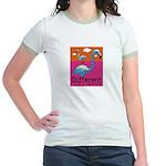 Different Flamingo Jr. Ringer T-Shirt