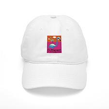 Different Flamingo Baseball Cap
