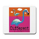 Different Flamingo Mousepad