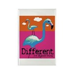 Different Flamingo Rectangle Magnet (100 pack)