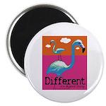 Different Flamingo Magnet