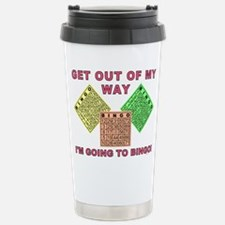 GET OUT OF MY WAY Travel Mug