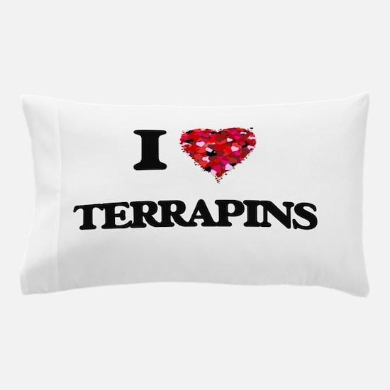 I love Terrapins Pillow Case