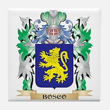 Bosco Coat of Arms - Family Crest Tile Coaster