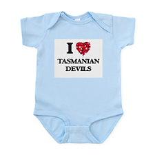 I love Tasmanian Devils Body Suit