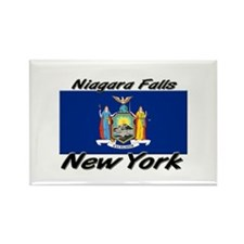 Niagara Falls New York Rectangle Magnet