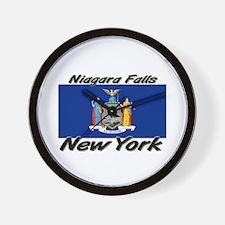 Niagara Falls New York Wall Clock