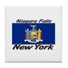Niagara Falls New York Tile Coaster