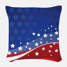 STARS & STRIPES Woven Throw Pillow