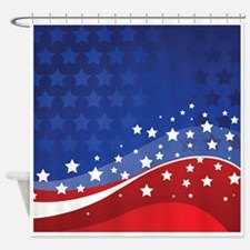 STARS & STRIPES Shower Curtain