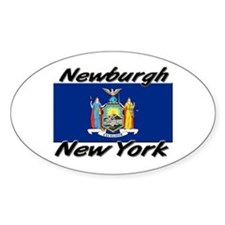 Newburgh New York Oval Decal