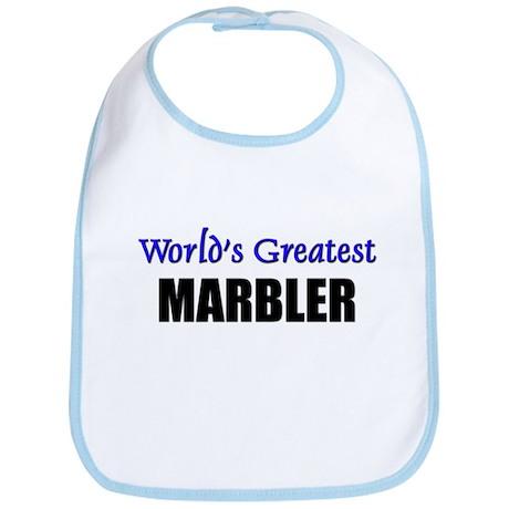 Worlds Greatest MARBLER Bib