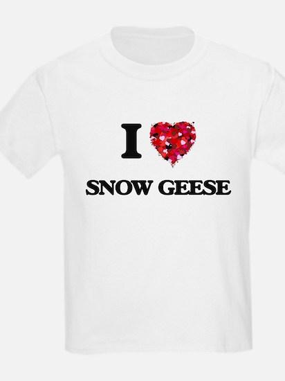 I love Snow Geese T-Shirt