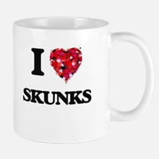 I love Skunks Mugs