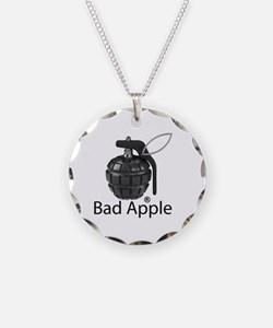 Bad Apple Necklace