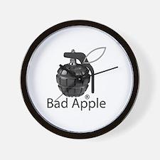 Bad Apple Wall Clock
