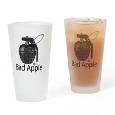 Bad Apple Drinking Glass