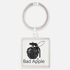 Bad Apple Square Keychain