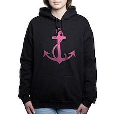 Cute Anchors Women's Hooded Sweatshirt
