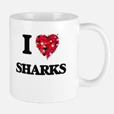 I love Sharks Mugs
