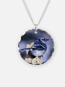 Unique Blue jay Necklace