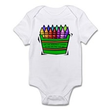 RK Not the Brightest Color Ar Infant Bodysuit