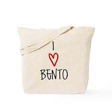 I <3 Bento Tote Bag
