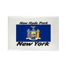 New Hyde Park New York Rectangle Magnet