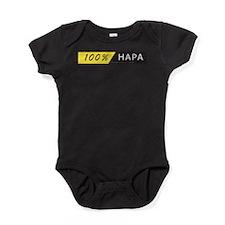 Funny Half asian Baby Bodysuit