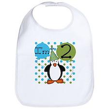 Penguin 2nd Birthday Bib