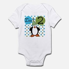 Penguin 2nd Birthday Infant Bodysuit