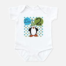 Penguin 2nd Birthday Onesie