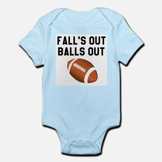 Fall's Out Balls Out Body Suit
