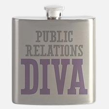 Public Relations DIVA Flask