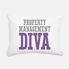 Property Management DIVA Rectangular Canvas Pillow