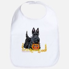 Halloween Scottish Terrier Bib