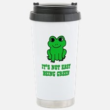 Cute Funny frog Travel Mug