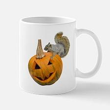 Squirrel Pumpkin Mug