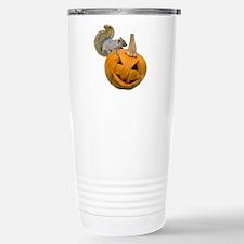 Squirrel Pumpkin Travel Mug