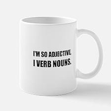 Adjective Verb Nouns Mugs