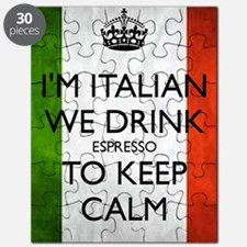 We Drink Espresso to Keep Calm Puzzle