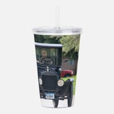 Unique Model t ford Acrylic Double-wall Tumbler