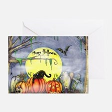 Cool Halloween Greeting Card