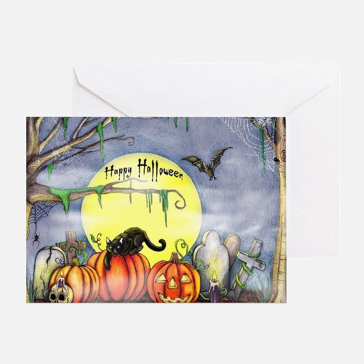 Cute Kid halloween Greeting Card