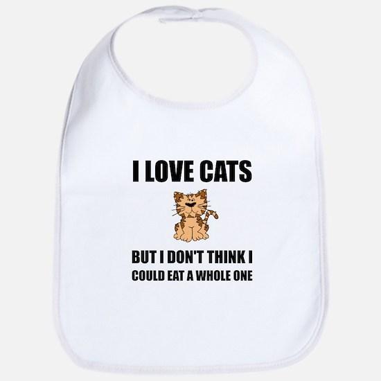 Eat A Whole Cat Bib